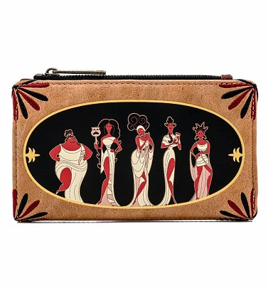 Loungefly Disney Hercules Muses Flap Wallet