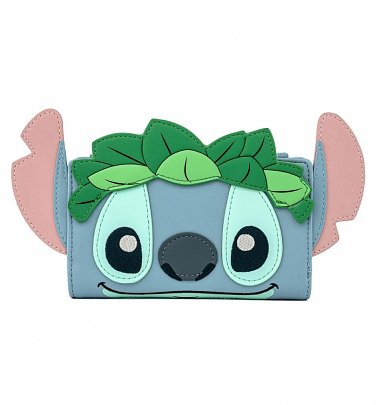 Loungefly Disney Lilo And Stitch Luau Cosplay Bifold Wallet