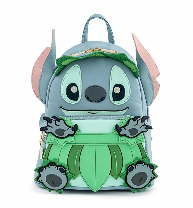Loungefly Disney Lilo And Stitch Luau Cosplay Mini Backpack