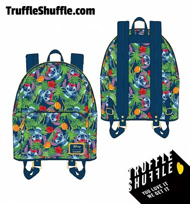 Loungefly Disney Lilo and Stitch Tropical Mini Backpack