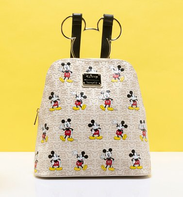 Loungefly Disney Mickey Mouse All Over Print Backpack