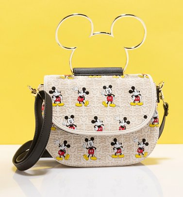 Loungefly Disney Mickey Mouse All Over Print Crossbody Bag