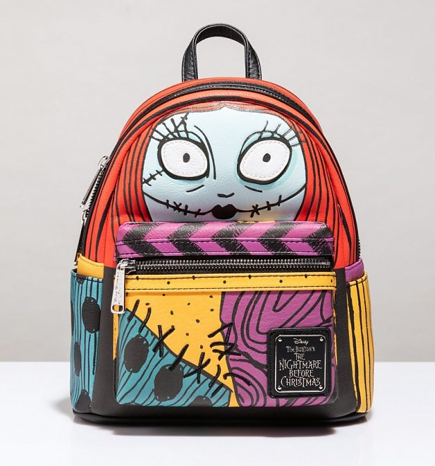 Loungefly Disney Nightmare Before Christmas Sally Big Face Mini Backpack