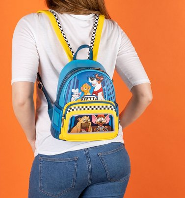 Loungefly Disney Oliver and Company Taxi Ride Mini Backpack