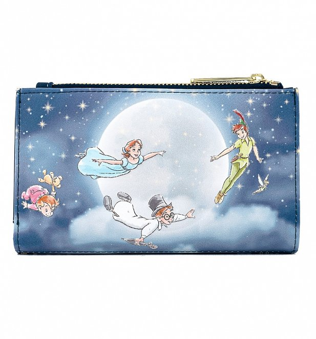 Loungefly Disney Peter Pan Second Star Flap Wallet