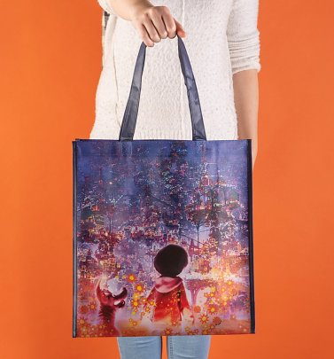 Loungefly Disney Pixar Coco Blueprint Reusable Tote