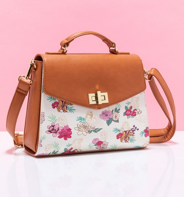 Loungefly Disney Princess Floral Crossbody Bag