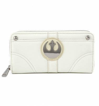 Loungefly Disney Star Wars Princess Leia Hoth Cosplay Zip Around Wallet