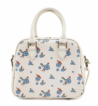 Loungefly Disney The Fox And The Hound All Over Print Floral Crossbody Bag