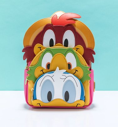 Loungefly Disney The Three Caballeros Mini Backpack