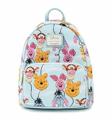 Loungefly Disney Winnie The Pooh Balloon Friends Mini Backpack
