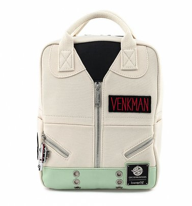 Loungefly Ghostbusters Venkman Cosplay Square Canvas Mini Backpack