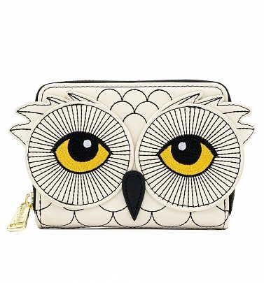 Loungefly Harry Potter Hedwig Howler Zip Around Wallet