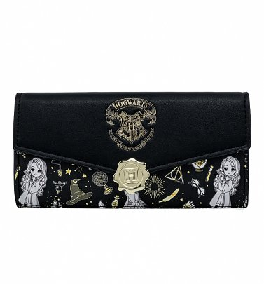 Loungefly Harry Potter Magical Elements All Over Print Wallet