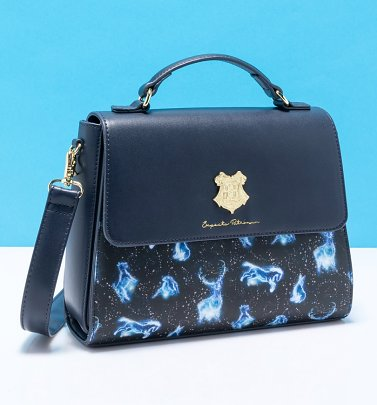 Loungefly Harry Potter Patronus All Over Print Crossbody Bag