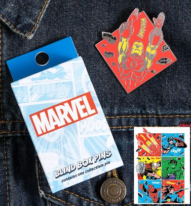 Loungefly Marvel Avengers Blind Box Enamel Pin