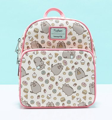 Loungefly Pusheen Snackies Convertible Mini Backpack