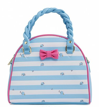 Loungefly Sanrio Tuxedo Sam Striped Crossbody Bag