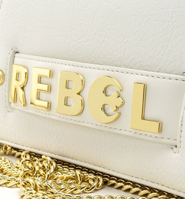 Loungefly Star Wars Gold Rebel Clutch Cross Body Bag