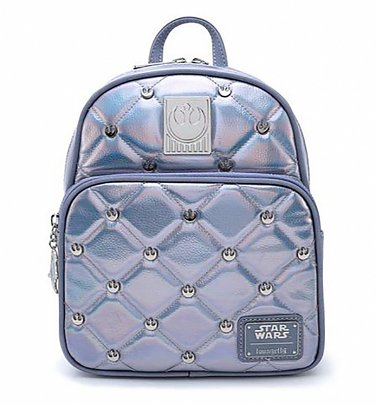 Loungefly Star Wars Hoth Iridescent Mini Backpack