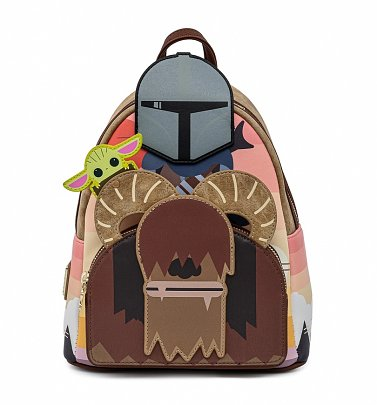Loungefly Star Wars Mandalorian Bantha Ride Mini Backpack