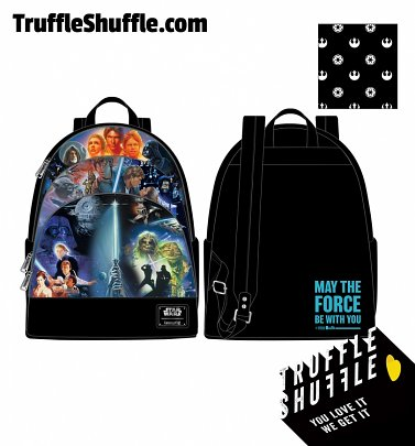 Loungefly Star Wars Original Trilogy Backpack