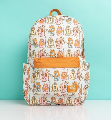 Loungefly Star Wars Pastel Ewok Nylon Backpack