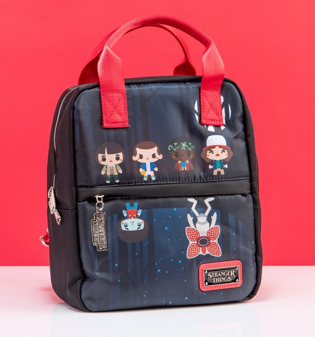Loungefly Stranger Things Printed Mini Backpack