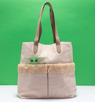 Loungefly The Mandalorian Baby Yoda The Child Tote Bag