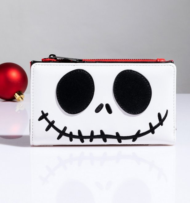 Loungefly The Nightmare Before Christmas Santa Jack Cosplay Flap Wallet