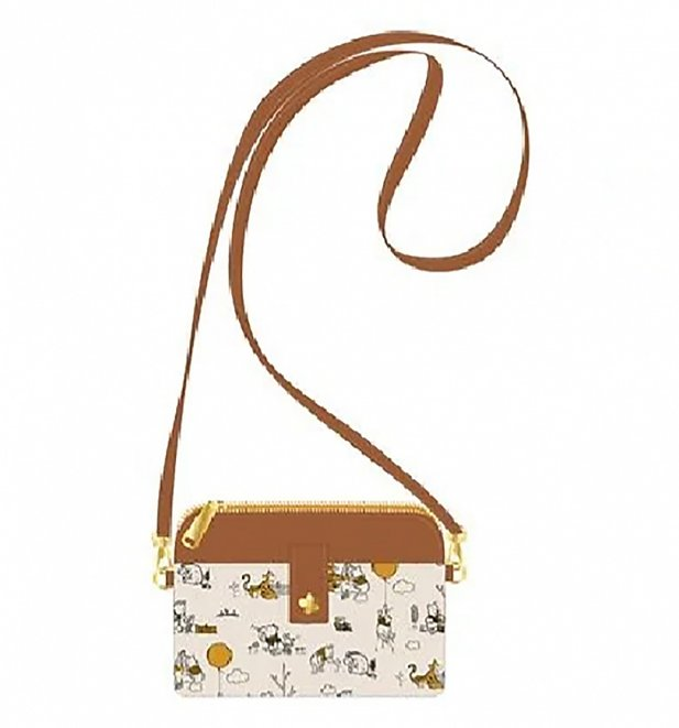 Loungefly Winnie The Pooh Line Drawing Cross Body