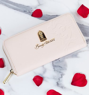 Loungefly x Disney Beauty and the Beast Belle Embossed Wallet