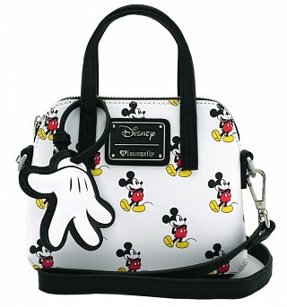 Loungefly x Disney Mickey Mouse Micro Dome Crossbody Bag