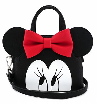 Loungefly x Disney Minnie Eyes Micro Dome Crossbody Bag