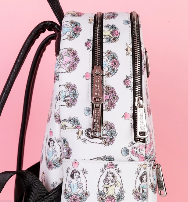 Loungefly Disney Princess Printed Mini Backpack