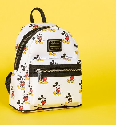 Loungefly Disney Mickey Mouse Faux Leather Mini Backpack