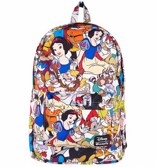 Loungefly x Snow White Character Print Backpack