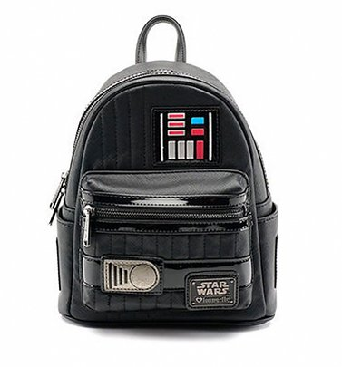 Loungefly x Star Wars Darth Vader Mini Faux Leather Backpack
