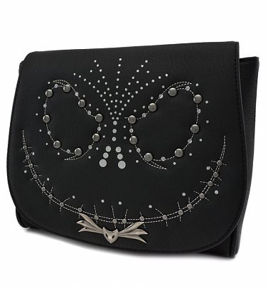 Loungefly x The Nightmare Before Christmas Jack Studded Crossbody Bag