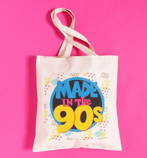 Made In The 90s Canvas Tote Bag