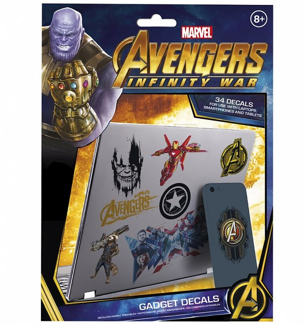 Marvel Avengers Infinity War Gadget Decals