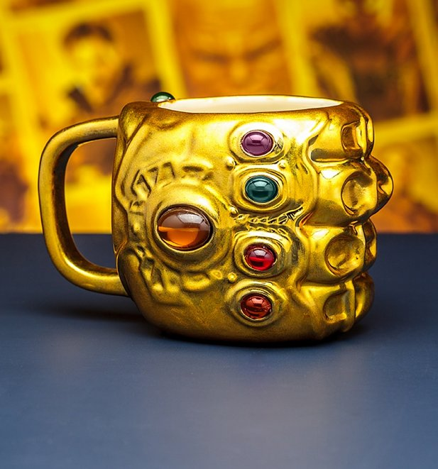Avengers Infinity War Gauntlet Shaped Mug