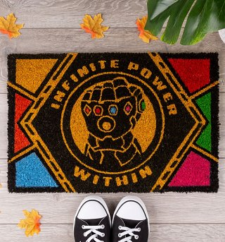 Marvel Avengers Infinity War Infinite Power Door Mat