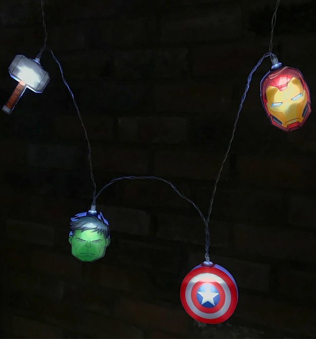 Marvel Avengers String Lights