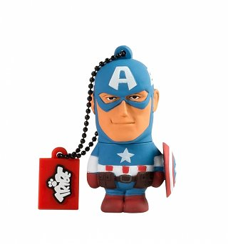 Marvel Captain America USB 8GB Memory Stick