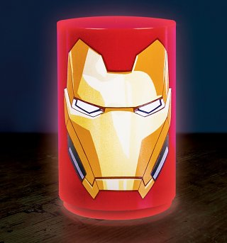 Marvel Comics Avengers Mini Iron Man Lamp With Sounds