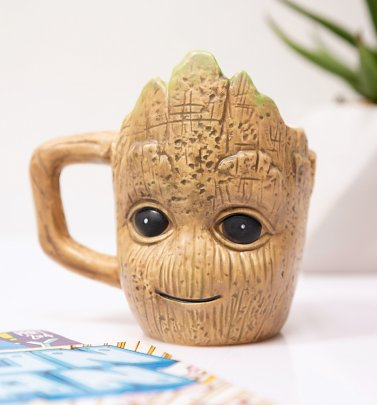 Marvel Comics Baby Groot Shaped Mini Mug