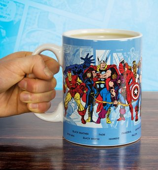 Oversized Marvel Comics Characters Mug