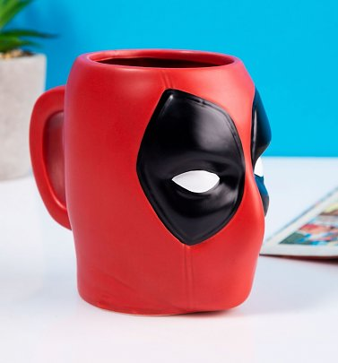 Marvel Comics Deadpool 3D Shaped Mug