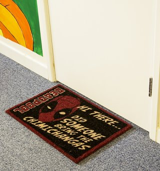 Marvel Comics Deadpool Chimichanga Door Mat